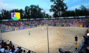 У Києві відбудеться четвертий тур із пляжного футболу