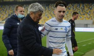 Шапаренко: Вдячний Луческу, що бачить в мені гравця, який потрібен команді