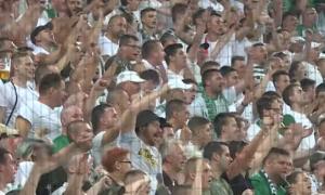 Фанати Ференцвароша овіаціями подякували команді Реброва за гру в Лізі чемпіонів