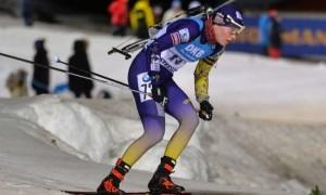 Блашко потрапила до ТОП-20 персьюту на третьому етапі Кубку світу