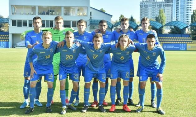 Збірна України перемогла Грузію у відборі на Євро U-17