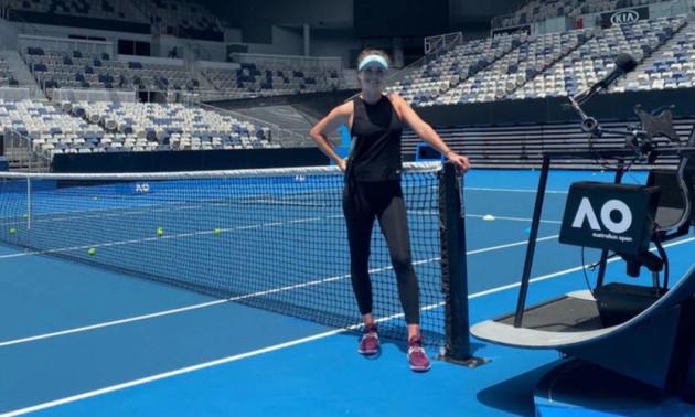 Світоліна забила тривогу перед стартом Ausralian Open