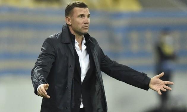 Шевченко оцінив збірну України у 2020 році