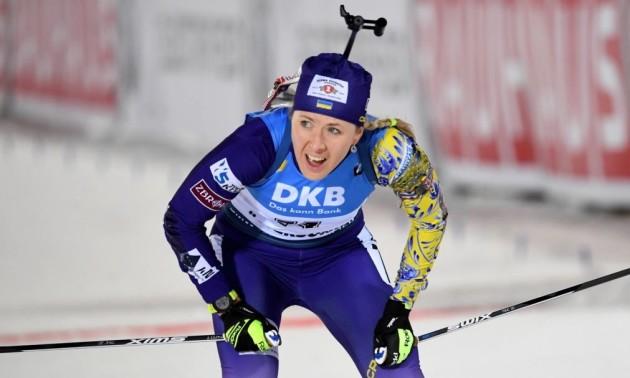 Збірна України фінішувала 9-ю у жіночій естафеті на Кубку світу