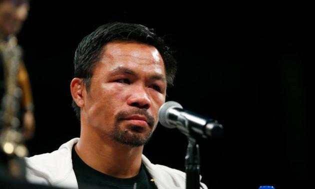 Пакьяо позбавили титулу WBA Super в напівсередній вазі