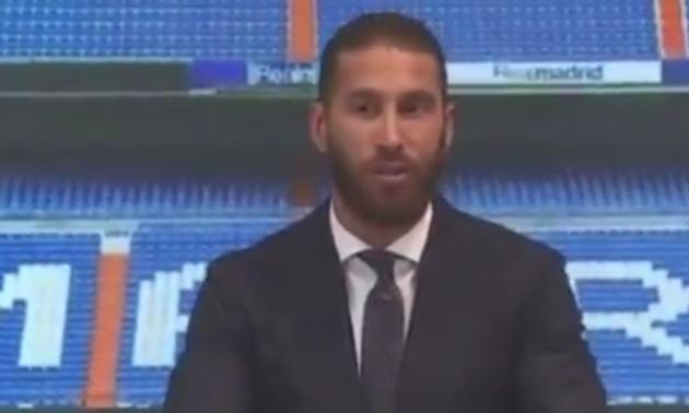 Рамос розплакався на прощанні з Реалом