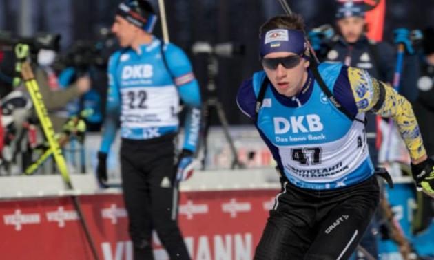 Цимбал - шостий у короткій індивідуальній гонці Кубка IBU