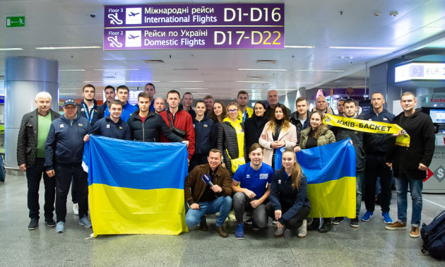 У Києві зустріли срібних призерів чемпіонату світу