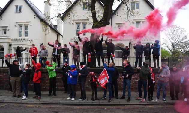 Уболівальники Ліверпуля влаштували дебош у Барселоні