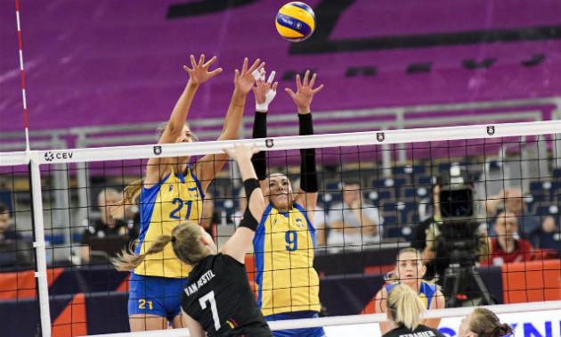 Україна програла Бельгії у 1 турі чемпіонату Європи