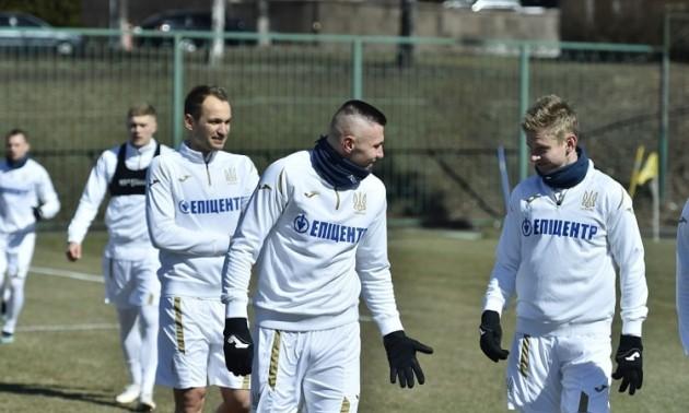 Збірна України назвала склад на матч з Францією