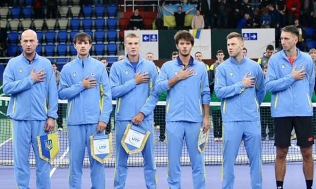 Україна зіграє з Ізраїлем у Кубку Девіса