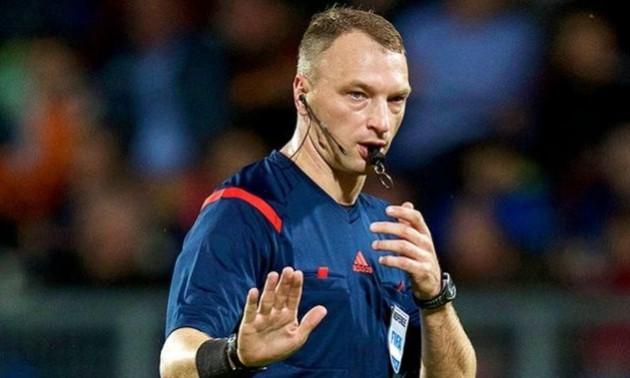 Український арбітр буде судити матчі російської Прем'єр-ліги