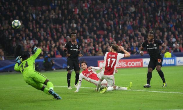 Аякс – Челсі 0:1. Відео голу