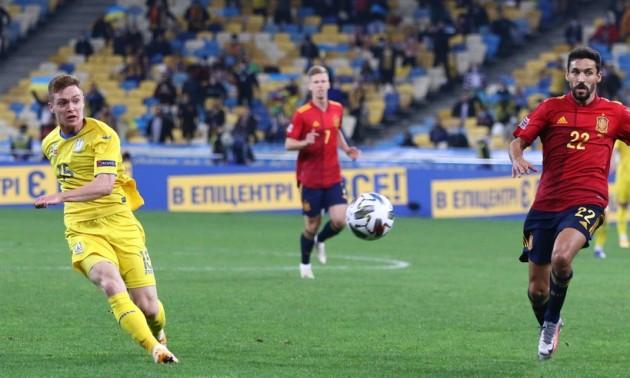Збірна Україна сенсаційно переграла Іспанію у 4 турі Ліги націй