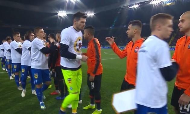 Мораес: Хацкевич зобов'язав гравців Динамо не тиснути мені руку
