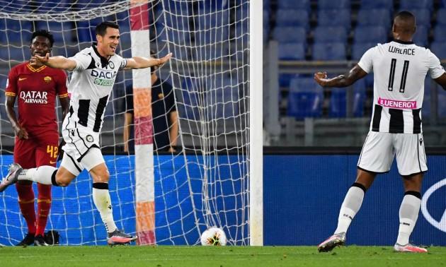 Рома – Удінезе 0:2. Огляд матчу