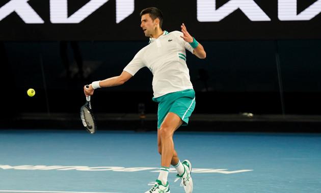 Джокович переміг Медведєва та здобув титул Australian Open