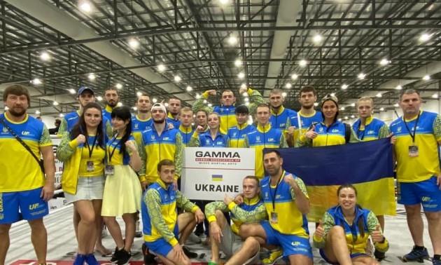 Україна виграла чемпіонат світу із ММА