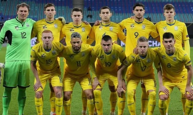 Збірна України втратила одну позицію у рейтингу ФІФА