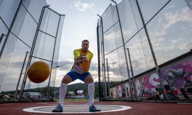 Кохан з особистим рекордом зупинився за два кроки від нагород на чемпіонаті світу