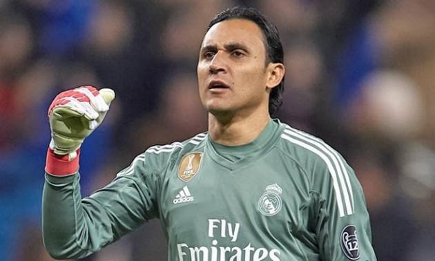 Навас травмувався, у Реала залишився один голкіпер