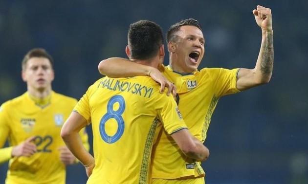 ТОП-5 найкращих голів збірної України у відборі на Євро-2020