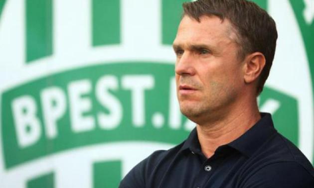 Ребров: Хочу у Ференцвароші повторити роботу Лобановського в Динамо
