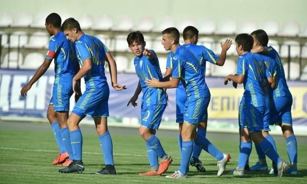 Україна U-17 перемогла Азербайджан на турнірі імені Баннікова