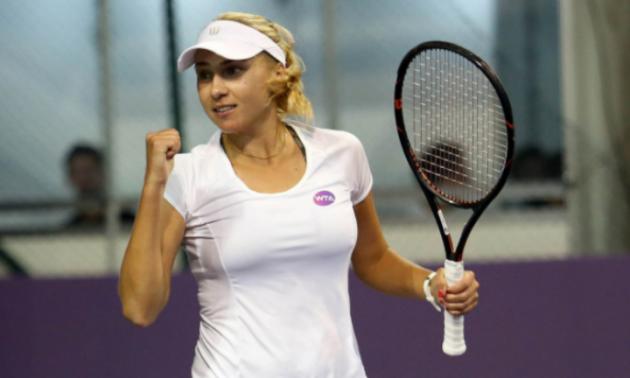 Кіченок програла у першому колі парного турніру в Осаці