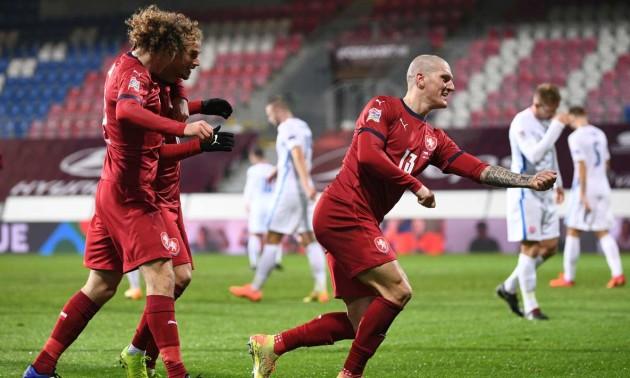 Чехія - Словаччина 2:0. Огляд матчу