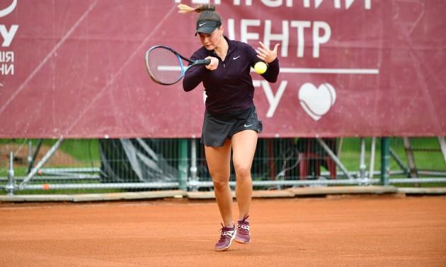 Дятлова обіграла Берген на турнірі в Ірпені