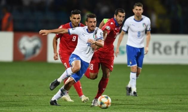 Італія – Вірменія 9:1. Огляд матчу