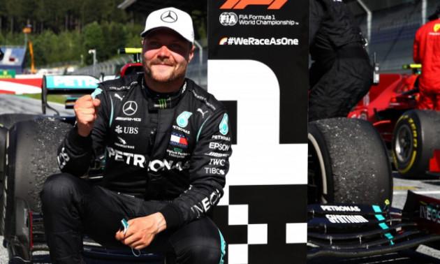Боттас здобув поул на Гран-прі Емілії-Романьї