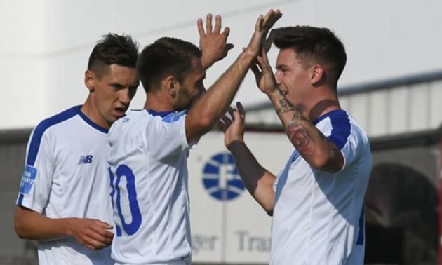 Караваєв забив перший гол за Динамо