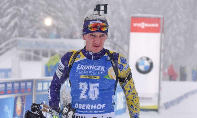 Підручний 18-м фінішував у спринті на чемпіонаті Європи