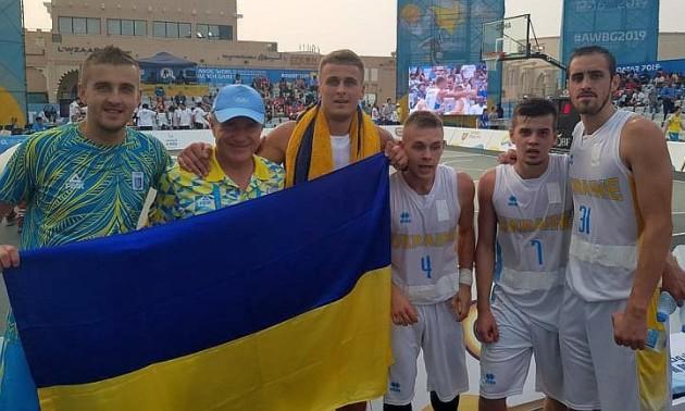 Збірна України програла Бразилії у півфіналі Пляжних ігор
