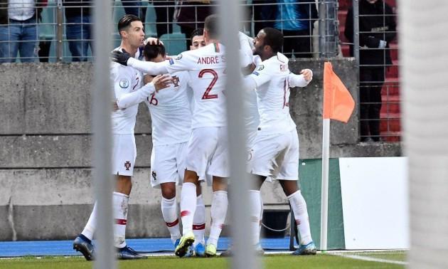 Збірна Португалії без проблем здолала Люксембург та вийшла на Євро-2020