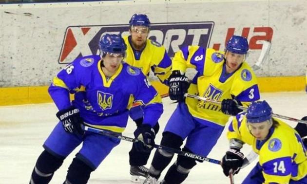 Збірна України з хокею поступилася в другому спарингу проти Юності