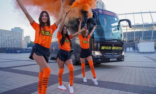 До Ліги чемпіонів Шахтар представив новий дизайн клубного автобуса