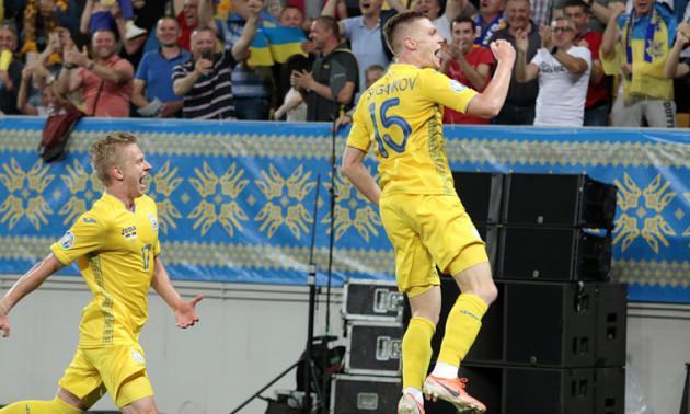 Феноменальний гол Циганкова у ворота збірної Сербії