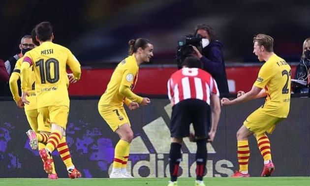 Барселона знищила Атлетік у фіналі Кубка Іспанії