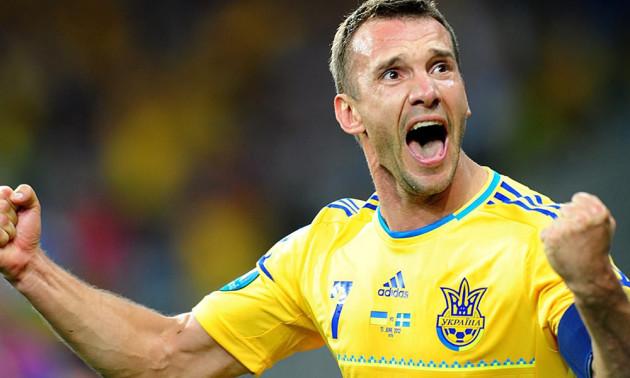 Найкращі голи Андрія Шевченка за збірну України