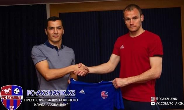 Українець продовжив контракт з казахстанським клубом