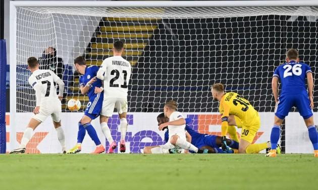 Лестер легко обіграв Зорю у 1 турі Ліги Європи
