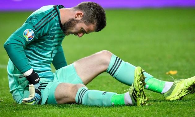 Де Хеа отримав пошкодження у матчі за збірну Іспанії