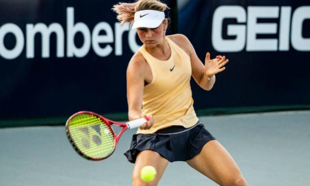 Костюк стартувала з перемоги на турнірі у Валенсії