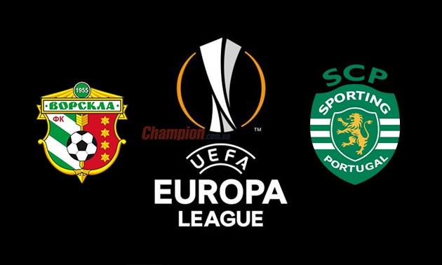 Ворскла — Спортінг де дивитися матч Ліги Європи