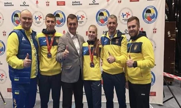 Збірна України завоювала три медалі на молодіжному чемпіонаті Європи