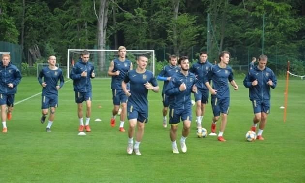 Збірна України U-20 провела відкрите тренування напередодні фіналу ЧС-2019